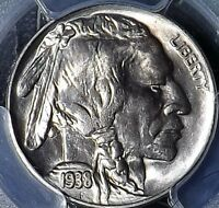 1938-D 5C BUFFALO NICKEL PQ PCGS MINT STATE 66 GREAT COIN FAST SHIP