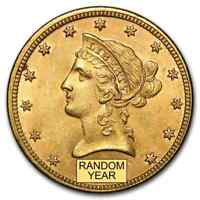$10 LIBERTY GOLD EAGLE BU  RANDOM YEAR    SKU 98270
