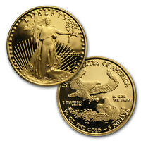 1/10 OZ PROOF GOLD AMERICAN EAGLE  RANDOM YEAR CAPSULE ONLY    SKU 35500