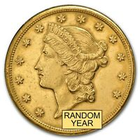 $20 LIBERTY GOLD DOUBLE EAGLE COIN CLEANED   SKU 151600