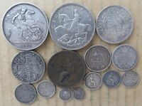 GREAT BRITAIN COIN COLLECTION 1807 TO 1935. JO 4011