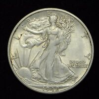 1942 S WALKING LIBERTY HALF DOLLAR UNITED STATES COIN  BB1769