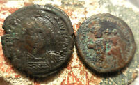 LOT OF 2 COINS JUSTINIAN SEPARATE & MAURICE TIBERIUS AND CONSTANTINA?