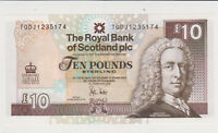 SCOTLAND 2012 10 POUNDS COMMEMORATIVE P 368 GEM UNC
