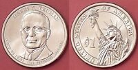 BRILLIANT UNCIRCULATED 2015D US HARRY TRUMAN 1 DOLLAR FROM MINTS ROLL