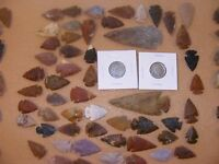 INDIAN BUFFALO & LIBERTY NICKEL W/ 50  ARROWHEADS/SPEARHEADS TEXAS ESTATE 2 1600
