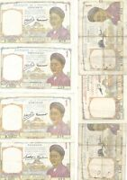 FRENCH INDOCHINA   LOT OF 7 TYPES   1 PIASTRE 1932 53