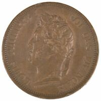 1843 A FRANCE 10 CENTIMES  8437