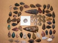 INDIAN HEAD  & 10 WHEAT CENTS W/ 50  ARROWHEADS/SPEARHEADS TEXAS ESTATE 5 2 1600