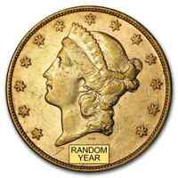 $20 LIBERTY GOLD DOUBLE EAGLE XF  RANDOM YEAR