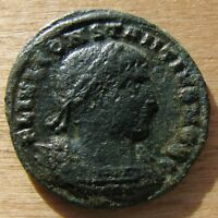 CONSTANTIUS II GLORA EXERCITVS AE 3 FROM THE THESSALONICA MINT