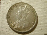 1936 CANADA SILVER DOLLAR GEORGE V ABOUT UNCIRCULATED