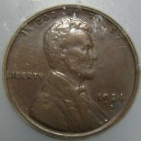 1924 S LINCOLN CENT   GRADED AU 50 BY ICG
