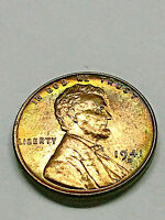 1941-D LINCOLN CENT CH BU TONING 2353