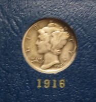 MERCURY DIME SET 1916 1945 ONLY MISSING 1942/1 AND 1916 D