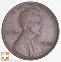 1933 LINCOLN WHEAT CENT 2881