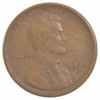 1921-S LINCOLN WHEAT EARS CENT J71