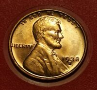 1938 S LINCOLN WHEAT CENT UNCIRCULATED W27316