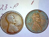 1923-P & S LINCOLN WHEAT CENT LOT 1