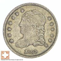 1835 CAPPED BUST HALF DIME XB81