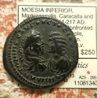 MARKIANOPOLIS CARACALLA & DOMNA SOLD IN PEGASI AUCTION BACK IN 2011 FOR $165