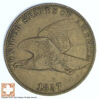 1857 FLYING EAGLE CENT 538