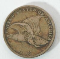 1858 FLYING EAGLE ONE CENT G32