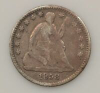 1858-P SEATED LIBERTY SILVER HALF DIME G44