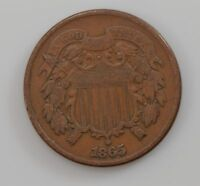 1865 TWO-CENT PIECE Q00