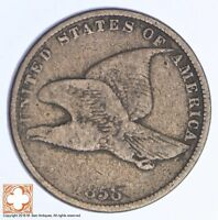 1858 FLYING EAGLE CENT XB61