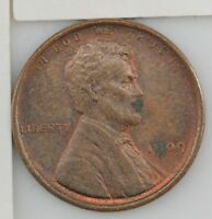 1909 LINCOLN WHEAT EARS CENT Z91