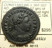 EF  CONSTANTINE I LONDON EX PEGASI SALE BACK IN 2012 WHICH LISTED COIN AT $295