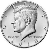 2018 P JOHN F. KENNEDY HALF DOLLAR UNCIRCULATED COIN     PRE SALE