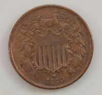 1870 TWO-CENT PIECE G05