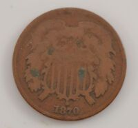 1870 TWO-CENT PIECE G13