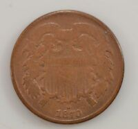 1870 TWO-CENT PIECE G11