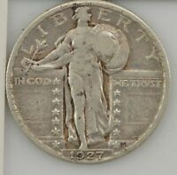 1927 STANDING LIBERTY QUARTER DOLLAR Z89