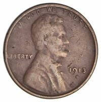 1913-S LINCOLN WHEAT CENT 2624