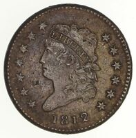 1812 CLASSIC HEAD LARGE CENT - CIRCULATED 2104