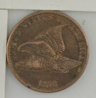 1858 FLYING EAGLE ONE CENT 456