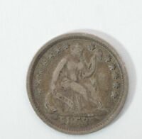 1853 LIBERTY SEATED HALF DIME, VARIETY 3 ARROWS AT DATE G55