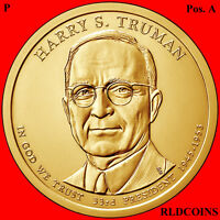 2015 P POS. A PRESIDENT HARRY S. TRUMAN UNCIRCULATED PRESIDENTIAL DOLLAR