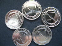 LOT COINS 5 FENINGA FROM BOSNIA AND HERZEGOVINA YEAR 2005 2017 COMPLETE SERIES