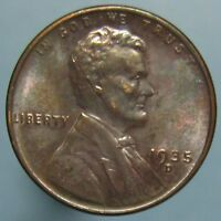1935 D LINCOLN CENT   HIGH GRADE & BEAUTIFULLY TONED
