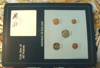 COIN SETS OF ALL NATIONS ICELAND ALL 1981 UNC 100   200