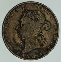 1892 CANADA 50 CENTS   CIRCULATED  4626