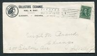 1905 POSTAL COVER TO WELL-KNOWN COLLECTOR VIRGIL BRAND - 1794 1/2C ILLUSTRATION