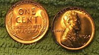 1954 LINCOLN WHEAT CENT  MS/BU RED LINCOLN COIN