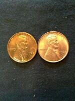 1937D-1938S LINCOLN CENT LOT RD UNCIRCULATED GREAT PRICE