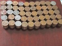 500 - LINCOLN CENT WHEAT CENTS 1930'S-1958 GOOD TO EXTRA FINE  COND   P,D & S MINTS
